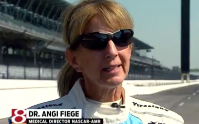 Dr. Fiege carries on late daughter's legacy at Indianapolis Motor Speedway