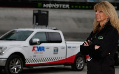 Dr. Angela Fiege will serve as the newly appointed NASCAR/AMR Safety Team Medical Director